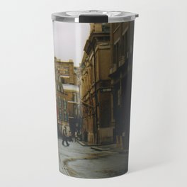 London - umbrella Travel Mug