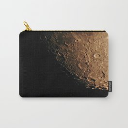 Moon Craters Carry-All Pouch