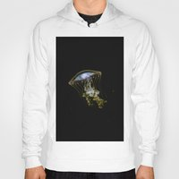 jelly fish Hoodies featuring Jelly Fish by Petra Heitler