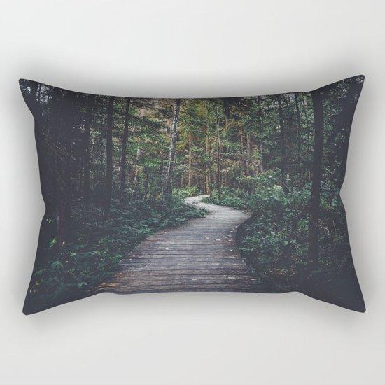 Path Unknown Rectangular Pillow