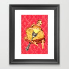 Toasted Framed Art Print