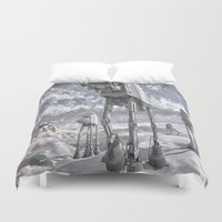 sci fi Duvet Covers featuring Sci-Fi Fantasy 2 by gypsykissphotography