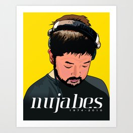 Nujabes Art Print
