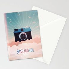 Shoot Forever Stationery Cards