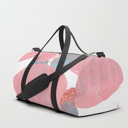 Hide and Seek Graphic Abstract Print Duffle Bag