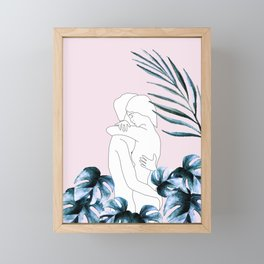 Couple Framed Mini Art Print