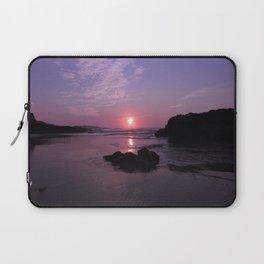 Purple Sunrise in Maine Laptop Sleeve