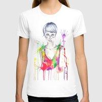 acid T-shirts featuring acid by Lua Fraga