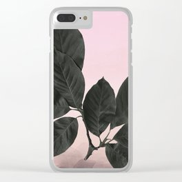Botanical dreams Clear iPhone Case