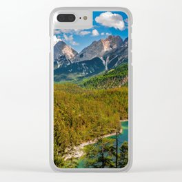 Zugspitze from Tyrol Austria Clear iPhone Case
