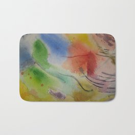 Watercolor Rhapsody Bath Mat