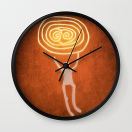 Carry the sun Wall Clock