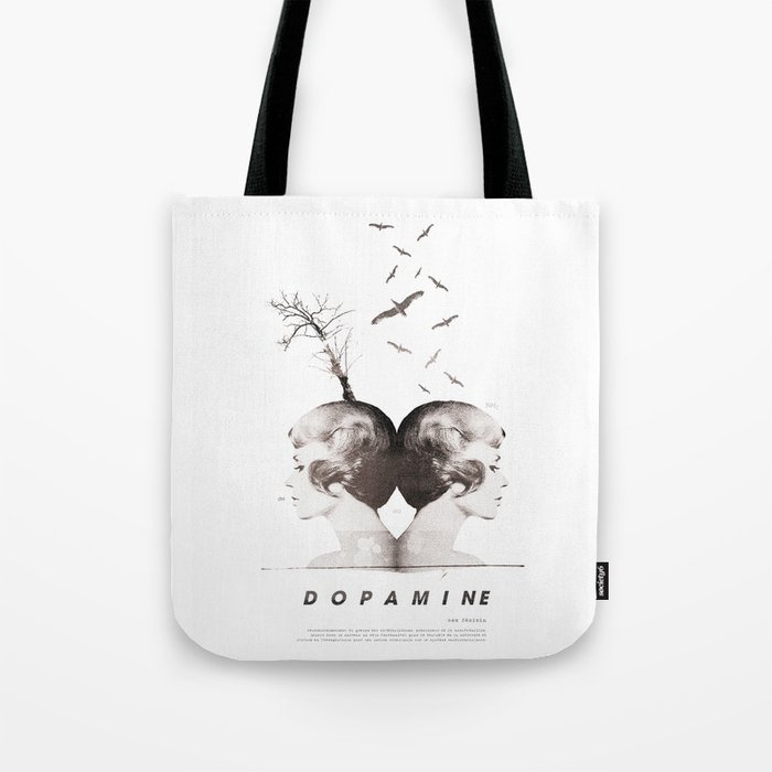 Dopamine | Collage Tote Bag