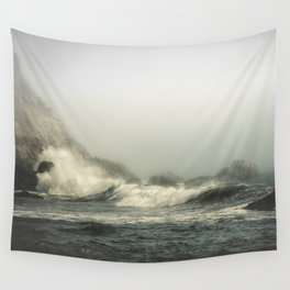 Into the waves V Wall Tapestry