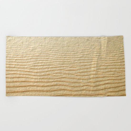 NATURAL SAND ART Beach Towel