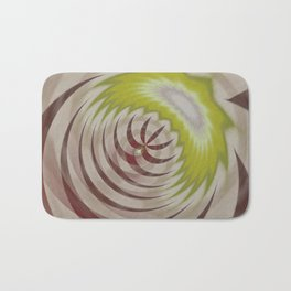 Basal Stripe Twirl Bath Mat