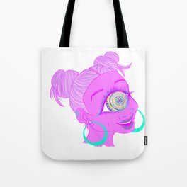 Mandala Cyclops Tote Bag