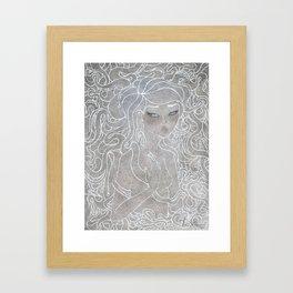Young Medusa Framed Art Print