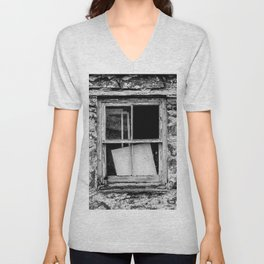 Wood, Glass and Stone Unisex V-Neck