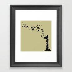 square 1 Framed Art Print