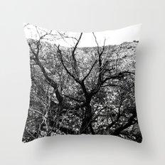 Castle Tree Throw Pillow