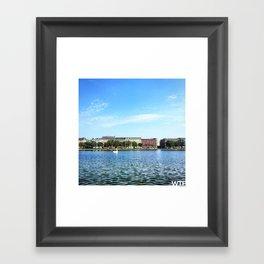 The Lakes Framed Art Print