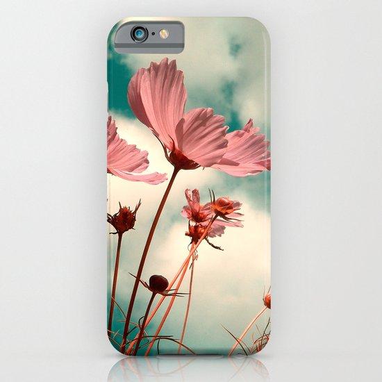 cosmos flowers II iPhone & iPod Case