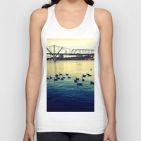river Tank Tops featuring River by kingseyb