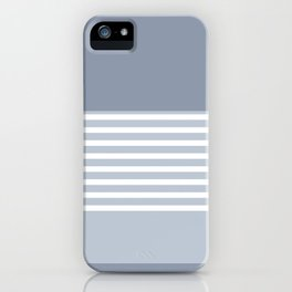 Marfa Abstract Geometric Print in Blue iPhone Case