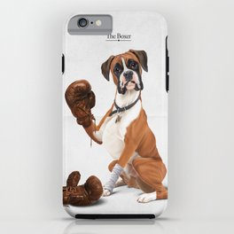 The Boxer iPhone Case