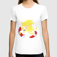 sonic T-shirts featuring Super Sonic by JHTY