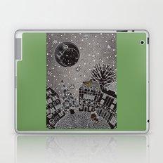 'Twas a Moonlit Winter Night Laptop & iPad Skin