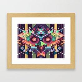 BirdMask Visuals - Buzzard Framed Art Print