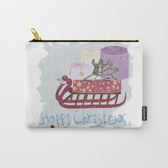 Retro . Vintage. . The Feast Of The Nativity . Carry-All Pouch