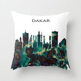 Dakar Skyline Throw Pillow