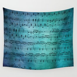 Painted Music Wall Tapestry