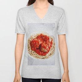 On Top of Spaghetti Unisex V-Neck