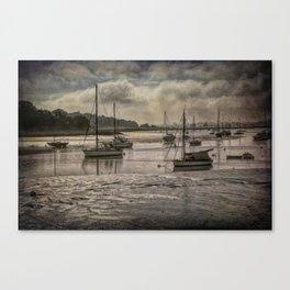 The River Deben at Woodbridge Canvas Print
