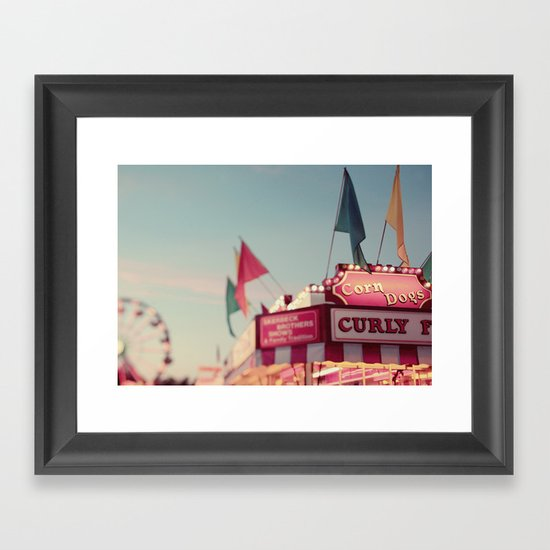 All's Fair Framed Art Print