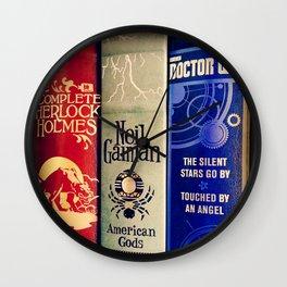 Library of Fun Wall Clock