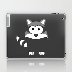 Minimal Raccoon Laptop & iPad Skin