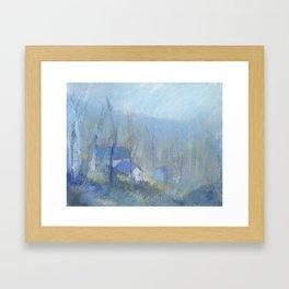 Shenandoah Blue Framed Art Print