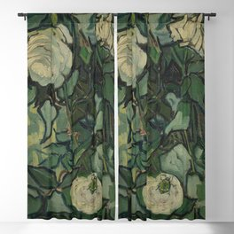 "Vincent Van Gogh ""Roses"" Blackout Curtain"