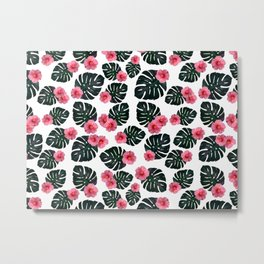 Tropical pattern n.1 Metal Print