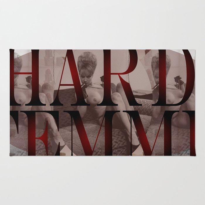 Hard Femme - Pin Up Girl Rug