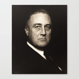 Franklin D. Roosevelt, about 1932 Canvas Print