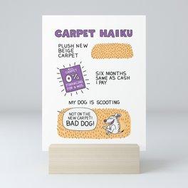 Carpet Haiku Mini Art Print