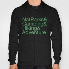 National Parks & Hiking & Camping & Adventure Hoody