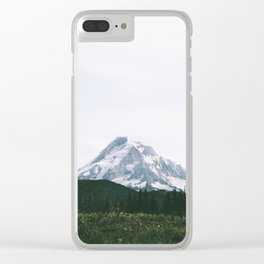 Mount Hood XV Clear iPhone Case