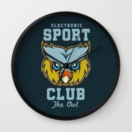 Electronic Sport Club Wall Clock